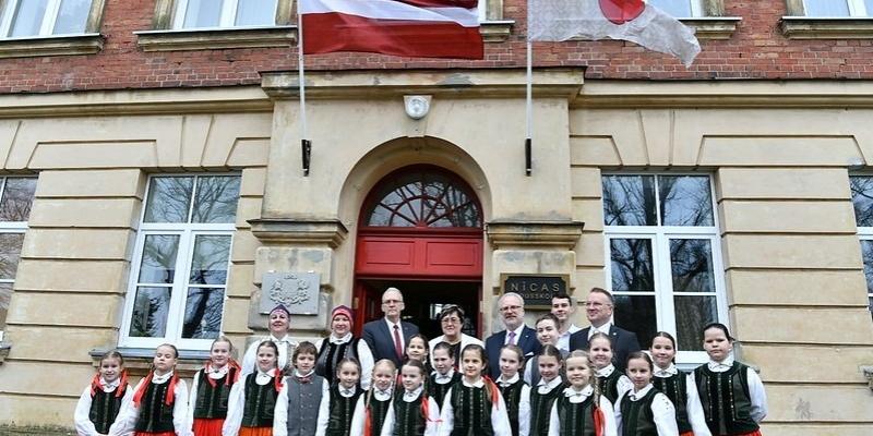 Prezidents Egils Levits viesojas Nīcas vidusskolā